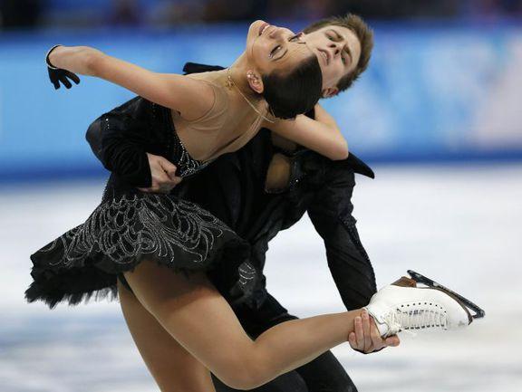 Сегодня. Сочи. Елена ИЛЬИНЫХ и Никита КАЦАЛАПОВ. Фото REUTERS