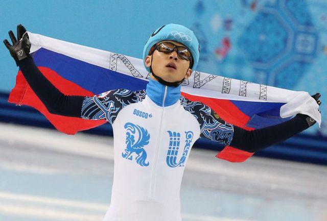 Сегодня. Сочи. Виктор АН - бронзовый призер Олимпиады. Фото Артем КОРОТАЕВ, ТАСС