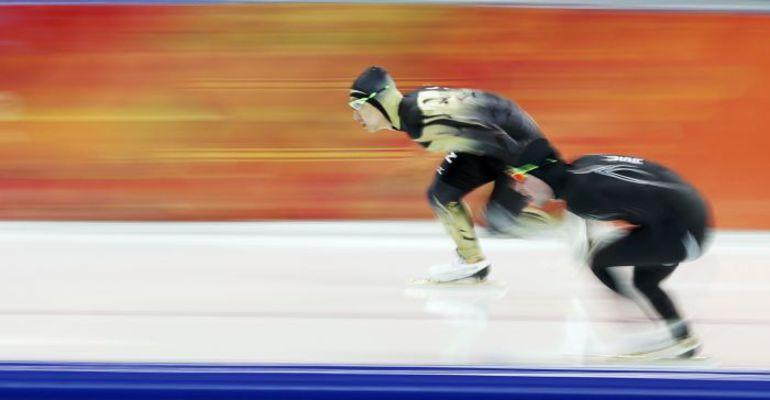 Конькобежцы сборной США пока не завоевали в Сочи ни одной медали. Фото REUTERS