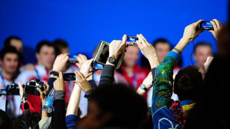 """Сегодня. Сочи. Пресс-конференция сборной России. Фото Александр ФЕДОРОВ, """"СЭ"""""""