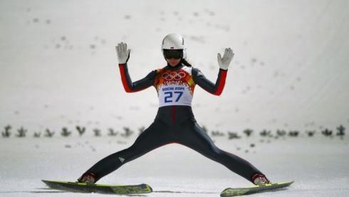 Вчера. Красная Поляна. Ирина АВВАКУМОВА. Фото Reuters