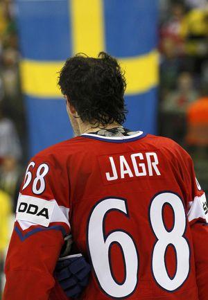 Сборная Чехии Яромира ЯГРА стартует на Олимпиаде матчем против Швеции. . Фото REUTERS