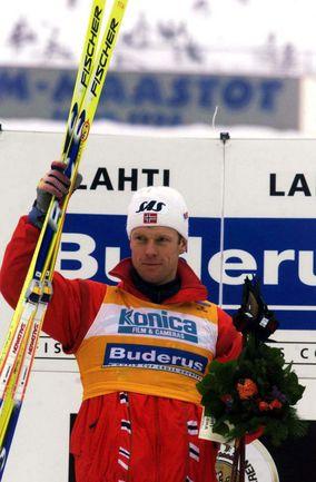 Знаменитый норвежский лыжник Бьорн ДЭЛИ. Фото REUTERS