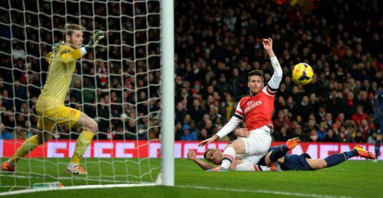 """Вчера. Лондон. """"Арсенал"""" – """"Манчестер Юнайтед"""" – 0:0. Фото AFP"""