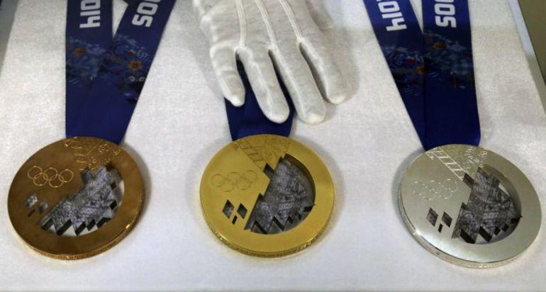 Олимпийские медали Сочи. Фото REUTERS