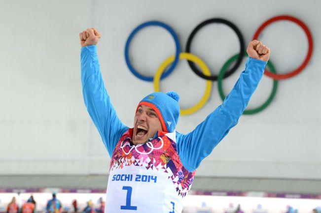 Четверг. Сочи. Эмоции Евгения ГАРАНИЧЕВА после завершения гонки. Фото REUTERS