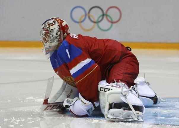 Сегодня. Сочи. Россия – Словения – 5:2. Семен ВАРЛАМОВ. Фото REUTERS