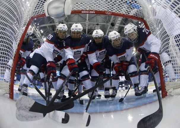 Сборная США по хоккею. Фото AFP