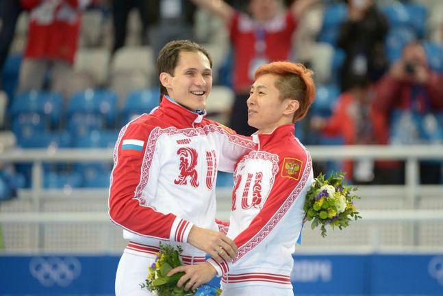 Сегодня. Сочи. Виктор АН (справа) и Владимир ГРИГОРЬЕВ. Фото AFP