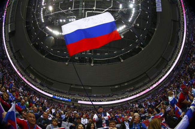 """Российские болельщики в """"Большом"""" - одно из открытий Игр. Фото REUTERS"""