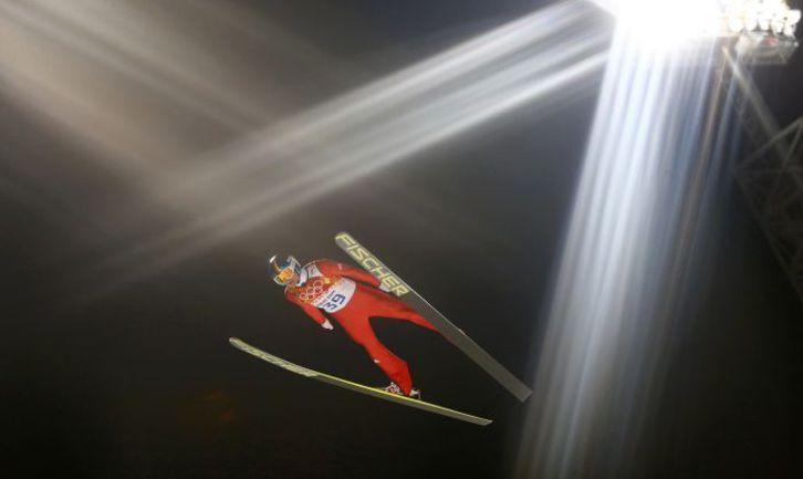 """Александр Арефьев: """"Без новых трамплинов наш вид спорта можно было бы закрывать"""". Фото REUTERS"""