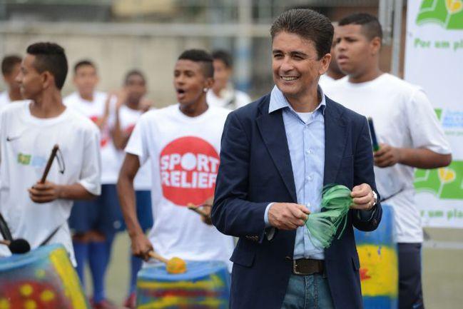Знаменитый бразильский нападающий БЕБЕТО. Фото AFP