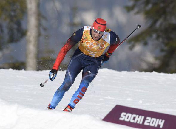 Воскресенье. Сочи. Александр ЛЕГКОВ на дистанции. Фото REUTERS
