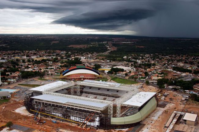Куяба. Арена Пантанал. Фото AFP