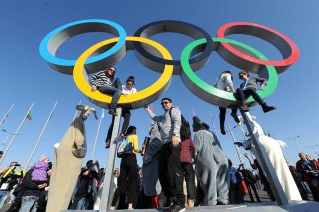 Сочи. Олимпийский парк. Главная площадь. . Фото Александр ФЕДОРОВ, «СЭ»