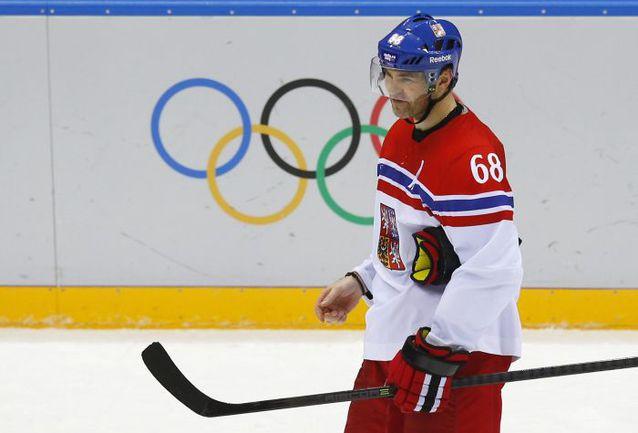 Яромир ЯГР по-прежнему один из лучших в составе сборной Чехии. Фото AFP