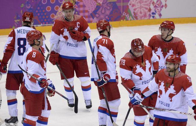 Среда. Сочи. Финляндия - Россия - 3:1. Эмоции российских хоккеистов. Фото REUTERS