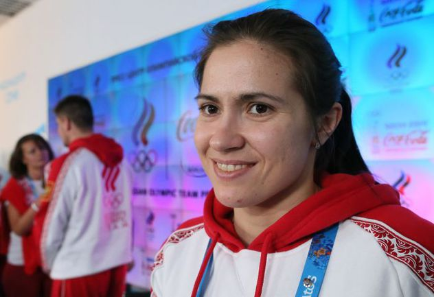 Татьяна ИВАНОВА – серебряный призер Сочи-2014 в санной эстафете. Фото ТАСС