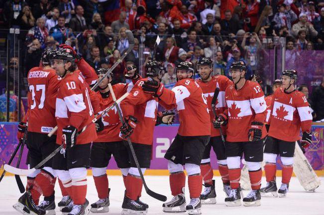 Уже сегодня большинство игроков сборной Канады могут стать двукратными олимпийскими чемпионами, взяв медали в логове заклятого соперника. Фото REUTERS