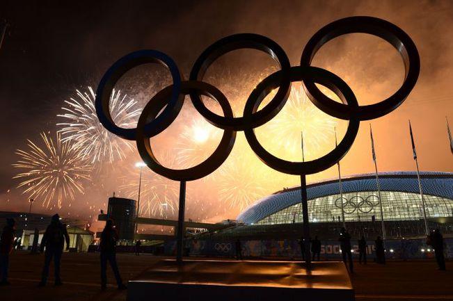 Воскресенье. Сочи. Церемония закрытия XXII Олимпийских зимних игр. Фото AFP