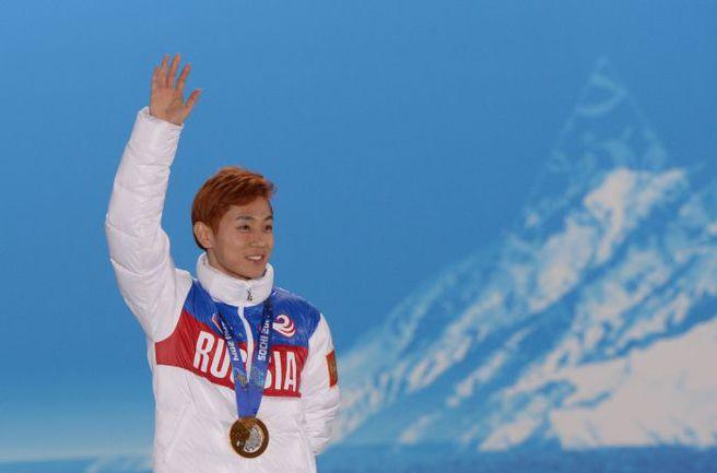 В Сочи Виктор АН завоевал три золота и одну бронзу, в точности повторив свои медальные достижения Турина-2006. Фото AFP