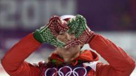 Белорусская биатлонистка Дарья ДОМРАЧЕВА увезла с Олимпиады в Сочи три золотые медали.