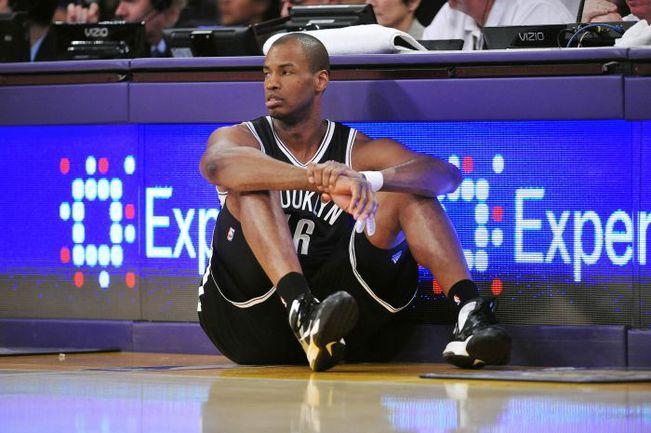 """Воскресенье. Лос-Анджелес. """"Лейкерс"""" – """"Бруклин"""" – 102:108. Джейсон КОЛЛИНЗ вмиг стал одной из самых обсуждаемых персон НБА. Фото REUTERS"""