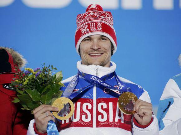 Суббота. Сочи. Вик УАЙЛД - первый в истории сноубордист, выигравший два золота на одной Олимпиаде. Фото Reuters