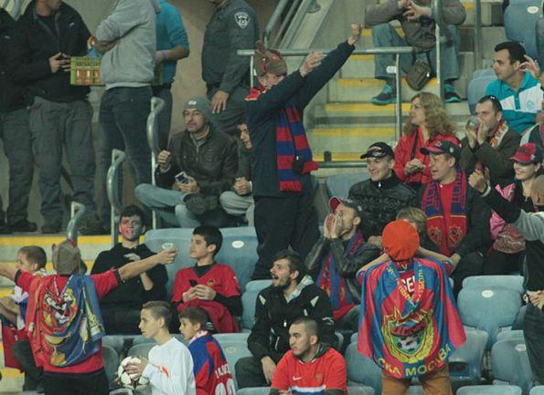 В первом официальном матче 2014 года поклонники ЦСКА ждут от своей команды только победы. Фото Валентин КОБЫЩА ПФК ЦСКА