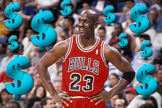 Самый высокооплачиваемый бывший спортсмен - Майкл ДЖОРДАН. Фото AFP