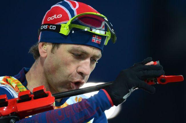40-летний норвежец Оле Эйнар БЬОРНДАЛЕН собирается выступать как минимум до чемпионата мира-2016. Фото REUTERS