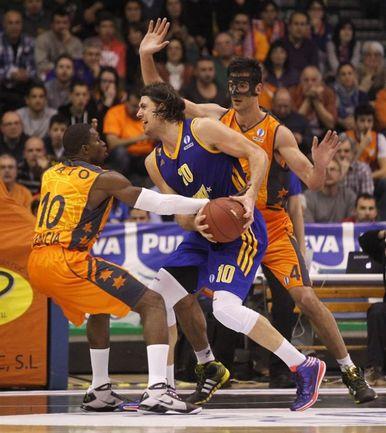 """Среда. Валенсия. """"Валенсия"""" - """"Химки"""" - 75:59. Фото eurocupbasketball.com"""