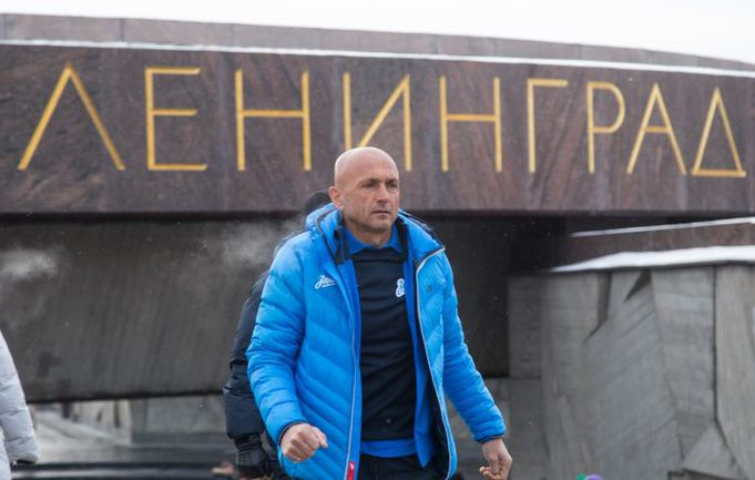 "Лучано СПАЛЛЕТТИ. Фото ФК ""Зенит"""