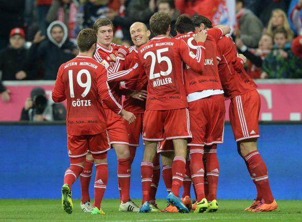 """Уже в субботу """"Бавария"""" может оформить свое очередное чемпионство. Фото AFP"""