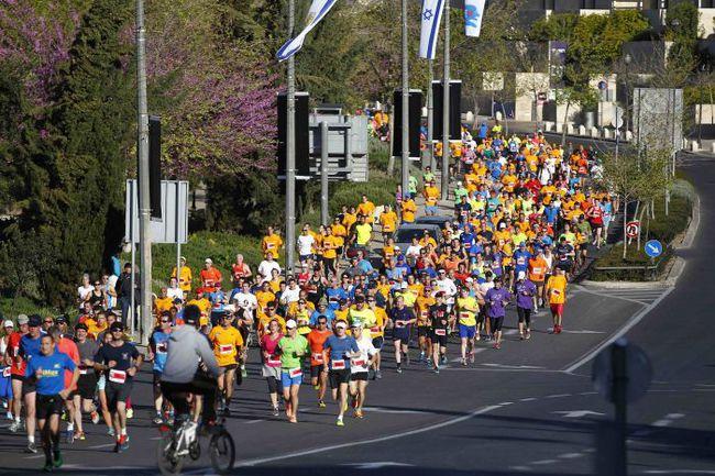 В столице Израиля прошел традиционный Иерусалимский марафон. Фото REUTERS