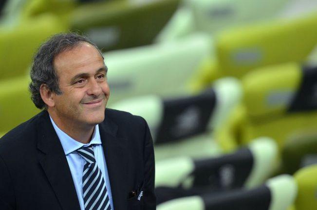 Президент УЕФА Мишель ПЛАТИНИ затеял очередную революцию. Фото REUTERS