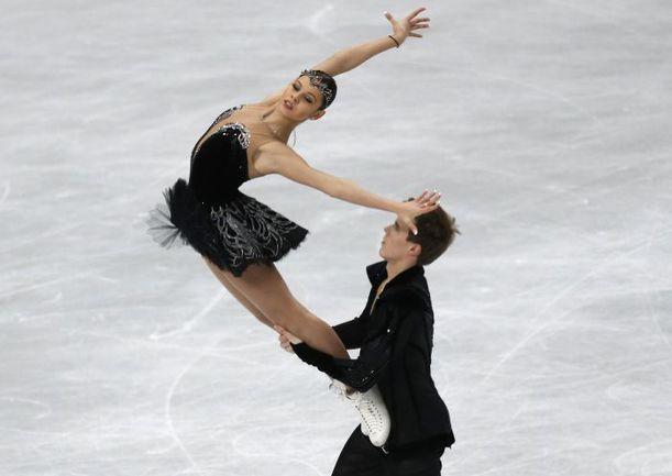 Елена ИЛЬИНЫХ и Никита КАЦАЛАПОВ. Фото REUTERS