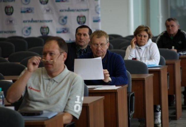 Сегодня в Ханты-Мансийске, где проходит чемпионат страны, состоялось заседание тренерского совета СБР, на котором российский биатлон начал подводить итоги сезона и олимпийского четырехлетия в целом. Фото СБР