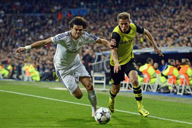 "Среда. Мадрид. ""Реал"" - ""Боруссия"" - 3:0. Похоже, дортмундская еврокампания-2013/14 завершена. Фото REUTERS"