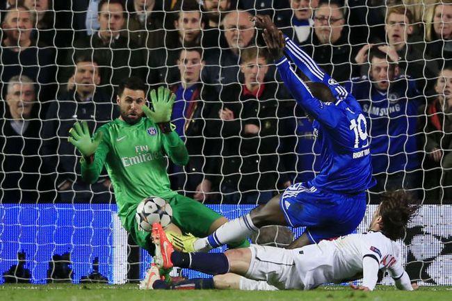 """Вчера. Лондон. """"Челси"""" - """"ПСЖ"""" - 2:0. 87-я минута. Гол Демба БА. Фото AFP"""