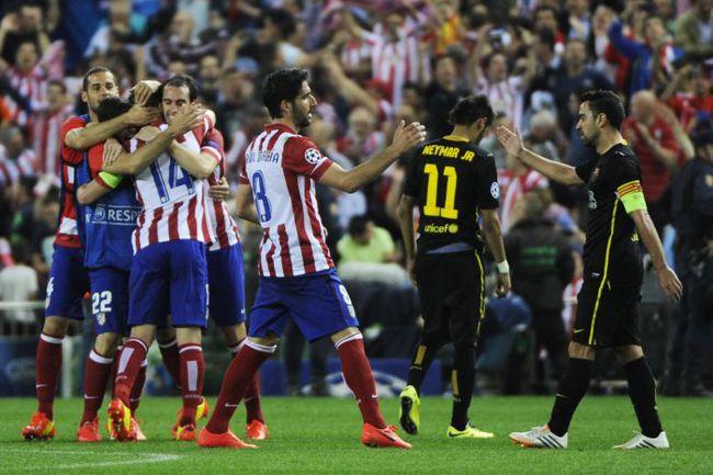 """Вчера. Мадрид. """"Атлетико"""" - """"Барселона"""" - 1:0. Фото AFP"""