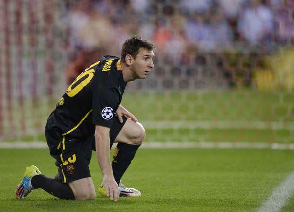 """Среда. Мадрид. """"Атлетико"""" – """"Барселона"""" – 1:0. Лионель МЕССИ провел один из худших матчей в карьере. Фото Reuters"""