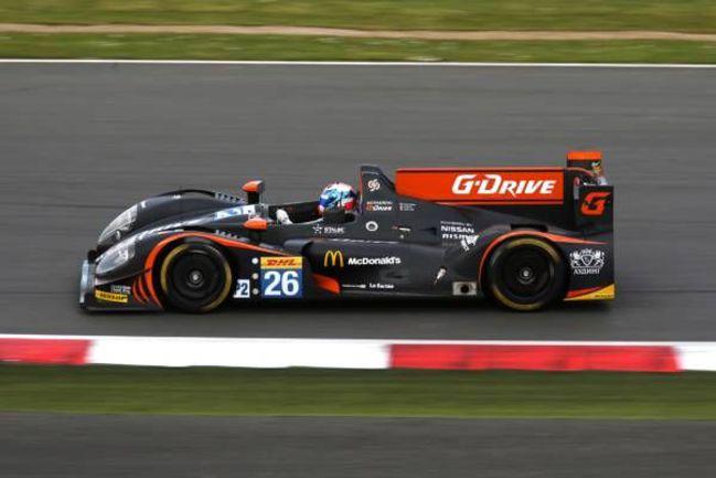 Воскресенье. Сильверстоун. Машина российской команды G-Drive Racing на трассе. Фото G-Drive Racing