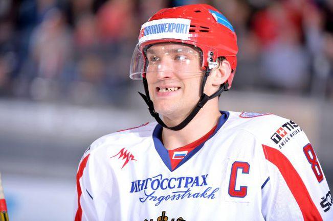Капитан сборной России Александр ОВЕЧКИН. Фото City Press
