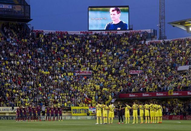 """Предстоящий матч """"Барселона"""" посвятит памяти своего бывшего главного тренера Тито ВИЛАНОВЫ, ушедшего из жизни в возрасте 45 лет после продолжительной борьбы с раком. Фото AFP"""