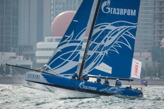 Gazprom Team Russia. Фото Extreme Sailing Series