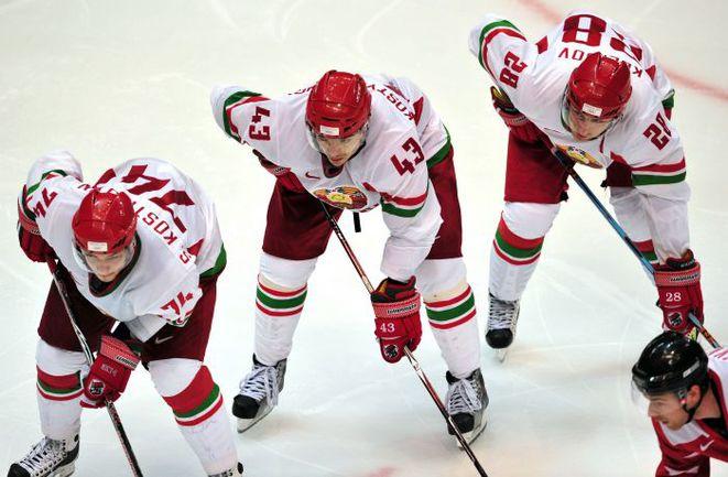 Сборная Белоруссии на домашнем ЧМ вряд ли выступит так, как Латвия в 2006-м. Фото AFP