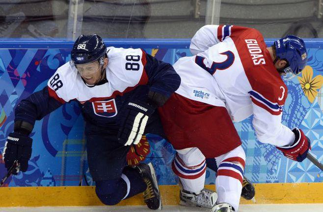 Чехия и Словакия сойдутся в стартовом матче на ЧМ-2014. Фото AFP