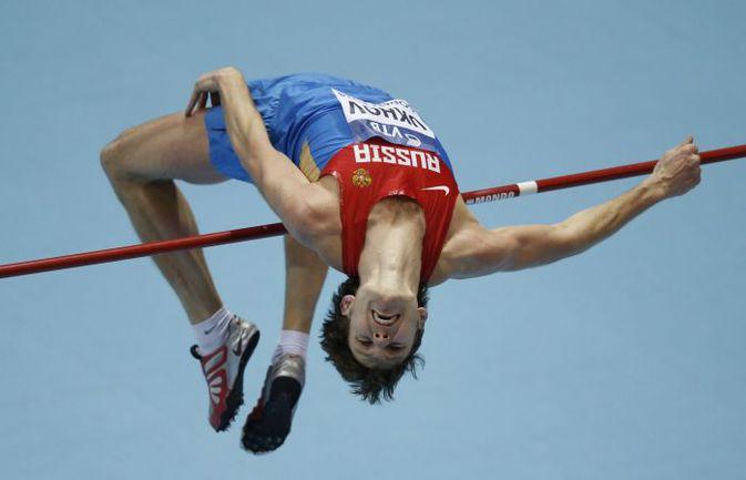 Олимпийский чемпион-2012 в прыжках в высоту Иван УХОВ. Фото AFP