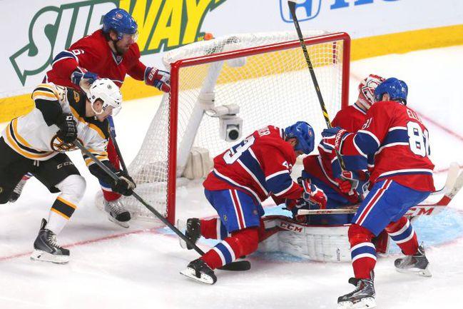 "Вчера. Монреаль. ""Монреаль"" - ""Бостон"" - 0:1 ОТ. Победный гол Мэтта ФРЕЙЗЕРА. Фото USA TODAY Sports"